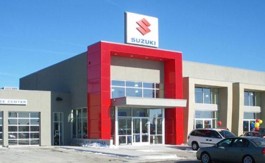 Suzuki of Wichita dealership exterior