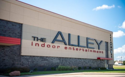 The Alley Wichita exterior day